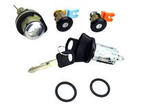 Mustang Ignition, Door And Trunk Lock Set (96-04)