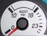 2003-04 Mustang Cobra Boost Gauge Overlay, Up To 23Psi