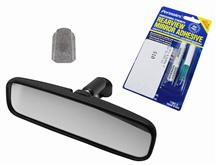 1979-93 Mustang Rear View Mirror Kit for Coupe & Hatchback