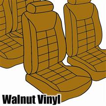 Mustang TMI Seat Upholstery Walnut Vinyl (1983) Low Back Coupe