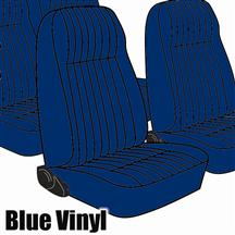 Mustang TMI Seat Upholstery Academy Blue Vinyl (1983) High L Hatchback