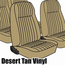 Mustang TMI Seat Upholstery Desert Tan Vinyl (1984) L Coupe