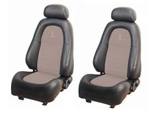 Mustang TMI Cobra Seat Conversion Dark Charcoal/Parchment (99-04) Coupe