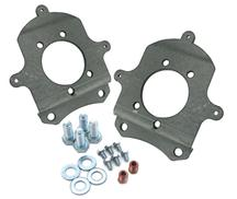 Mustang Rear Disk Brake Caliper Adapter Brackets For 87-88 Thunderbird Turbo Coupe Calipers (79-93)