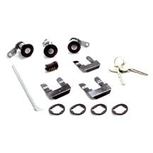Mustang Lock Set w/ Black Bezel (87-93)