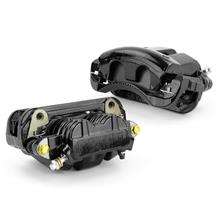 Mustang Centric Loaded Front Brake Calipers Pair Black (05-10)