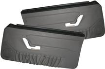Mustang TMI Deluxe Door Panels for Convertible   w/ Manual Windows Opal Gray (1993)