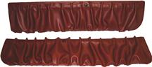 Mustang TMI Door Panel Map Pockets Scarlet Red (90-92)