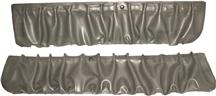 Mustang TMI Door Panel Map Pockets Titanium Gray (90-92)