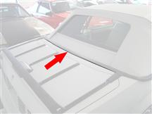 Mustang Center Lower Well Molding (83-93) Convertible