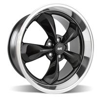 Mustang Bullitt Wheel - 20x10 Black w/ Mirror Lip (05-14)