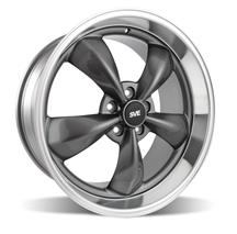 Mustang Bullitt Wheel - 20x10 Anthracite w/ Mirror Lip (05-14)