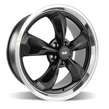 Mustang Bullitt Wheel - 20x8.5 Black w/ Mirror Lip (05-14)