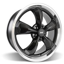 Mustang Bullitt Wheel - 20x8.5 Black w/ Mirror Lip (05-15)
