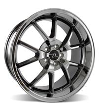 Mustang FR500 Wheel - 20x10 Black Chrome (05-10)