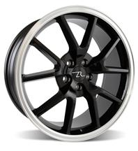 Mustang FR500 Wheel - 20x8.5 Black w/ Mirror Lip (05-14)