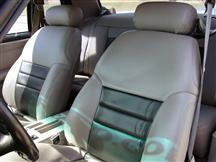 MUSTANG CUSTOM LEATHER SEAT UPHOLSTERY