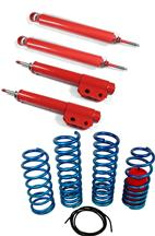 Mustang Eibach Drag Launch Spring And Lakewood Drag Shock & Strut Kit (79-93)