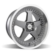 Mustang Saleen SC Wheel - 18x10 Gunmetal w/ Mirror Lip & Rivets (79-93)