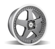 Mustang Saleen SC Wheel - 18x8.5 Gunmetal w/ Mirror Lip & Rivets (79-93)