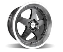 Mustang Saleen SC Wheel - 18x10 Black w/ Mirror Lip (94-04)