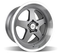 Mustang Saleen SC Wheel - 18x10 Gunmetal w/ Mirror Lip (94-04)