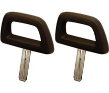 Mustang Halo Headrest Pair Black (84-86)
