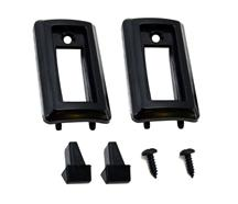 Mustang  Front Seat Back Latch Knob & Bezel Kit (81-93)