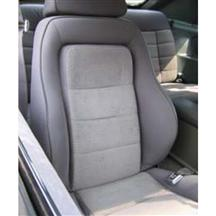 84 MUSTANG SVO CHARCOAL GRAY CLOTH SEAT UPHOLSTERY