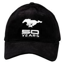 50 Years Mustang Hat Black