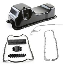 Mustang Oil Pan Kit Black (79-95) 5.0