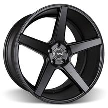 Mustang KMC 685 District Wheel - 20x10.5 Satin Black (05-15)