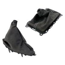 Mustang Alcantara Shift Boot & E Brake Boot Kit (10-14)