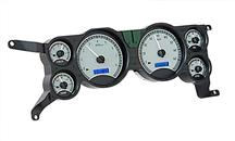 Mustang Digital Instrument Cluster Satin Face/Blue Backlighting (79-86)