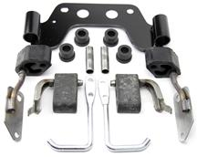 Mustang Dual Exhaust Hanger Kit For Manual Transmission (79-93) 5.0