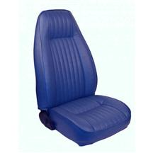 Mustang TMI Seat Upholstery Academy Blue Vinyl (83-84) Low  L Coupe
