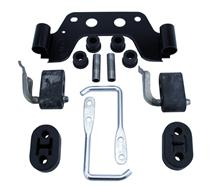 Mustang Exhaust Hanger Kit For Manual Transmission (86-93)