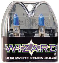 1987-93 Mustang Ultra White Headlight Bulbs