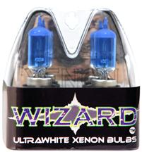 1994-04 Mustang Ultra White Headlight Bulbs