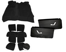 Mustang Interior Kit Black (90-91) Convertible