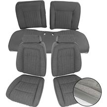 Mustang Sport Seat Upholstery Opal Gray Cloth (1993) Hatchback