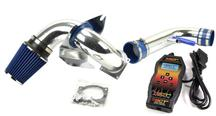 Mustang SVE Cold Air Intake Kit w/ SCT Powerflash SF3 Tuner Kit (96-04) 4.6