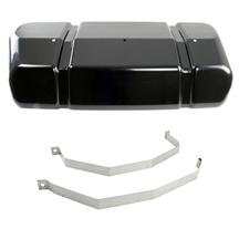 Mustang Glenns Fuel Tank Cover & Stainless Strap Kit (98-04)