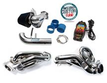 Mustang BBK Cold Air Intake & Shorty Header Tuner Kit (96-04) 4.6