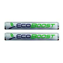 Mustang EcoBoost Emblem Pair Silver (2015)