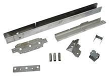 Mustang Smooth Frame Rail Kit, LH (79-93)