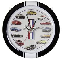 Mustang 50 Years Sound Clock