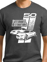 LatemodelRestoration.com 50th Anniversary T-Shirt Large