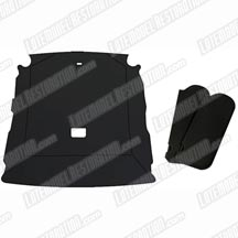 1985-93 Mustang Hatchback Black Cloth Sunvisor And Headliner Kit