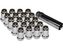 Mustang Spline Drive Lug Nuts Chrome (2015)